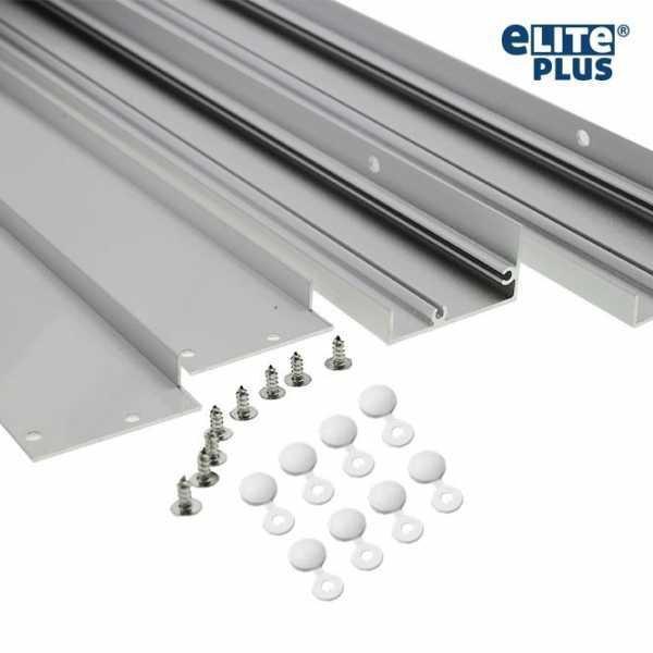 Rahmen Halterung für LED Panel 62x62cm silber
