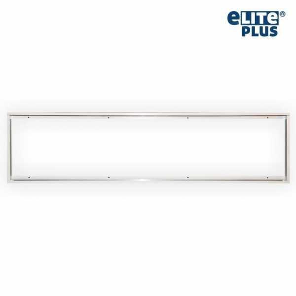Rahmen Halterung für LED Panel 30x120cm weiß