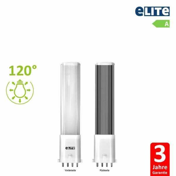 LED Lampe 2G7, 4W 12cm 330lm, 3000K Warmweiß CRI: 830