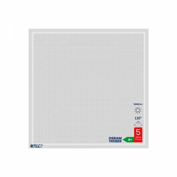 LED Panel Design Rectangula 62x62cm 30W 4000lm 6500K weiß