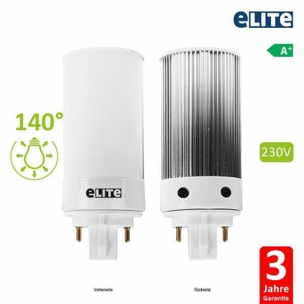 LED Lampe GX24Q G24Q-1, 3W 11cm 300lm, 6000K Tageslichtweiß CRI: 860