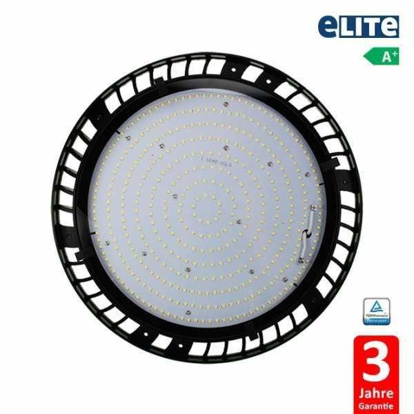 UFO LED Hallenstrahler 100W 11720lm 6500K, schwarz