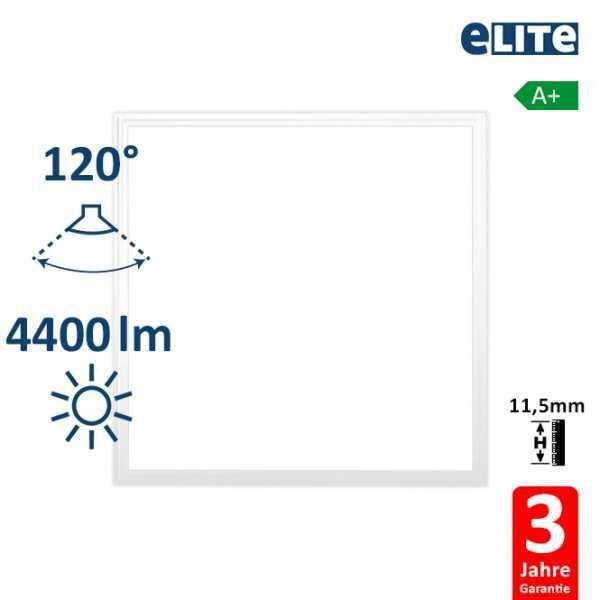 LED Panel 62x62cm 40W 4400lm 6000K, weiß