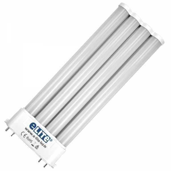 LED Lampe 2G10 Sockel Fassung, 18W, 23 cm, 1800lm, 3000 Kelvin