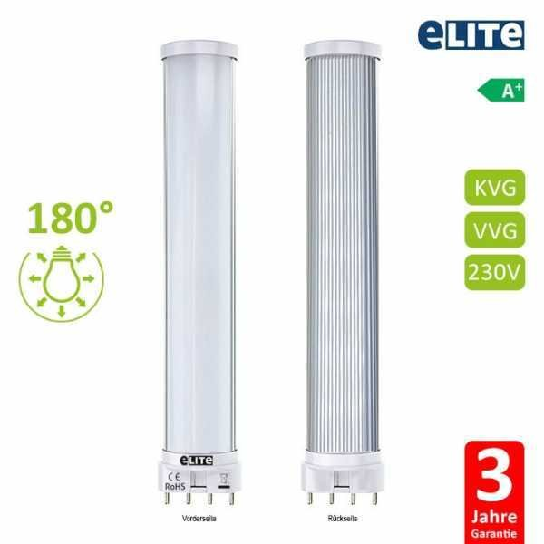 LED Lampe 2G11, 8W 22,7cm 800lm, 6500K Tageslichtweiß CRI: 865