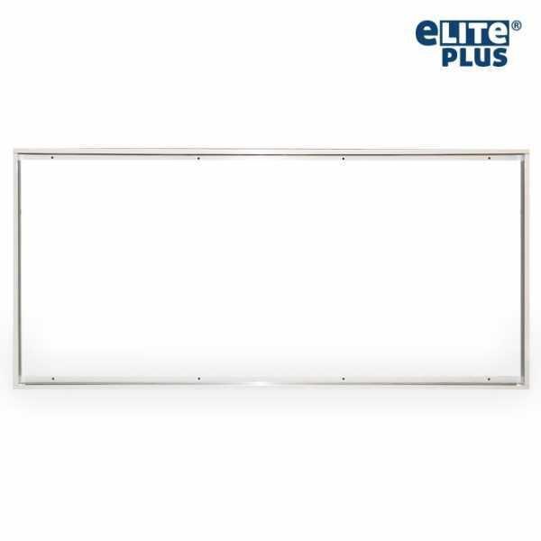 Rahmen Halterung für LED Panel 60x120cm weiß